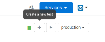 Fig 1.1 Create test for a web service